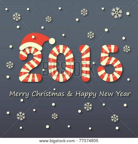Christmas And New Year Background