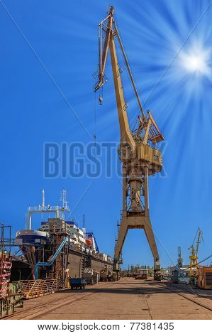 On The Shipyard