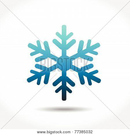 Vector snowflake for Christmas design