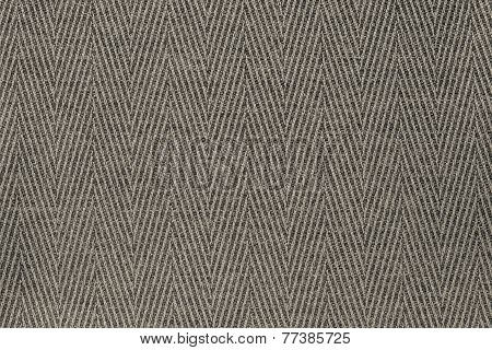 Texture Fabric A Herringbone Of Beige Color