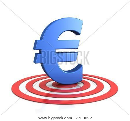 Euro Sign On Target