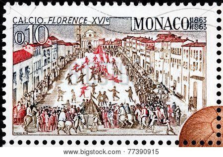 Calcio Match Stamp