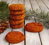 pic of winterberry  - few Festive cookies for Christmas and New Year - JPG