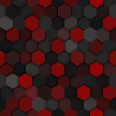 picture of darkness  - Seamless technology vector dark seamless pattern - JPG
