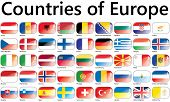 pic of sweden flag  - Flags of Europe - JPG