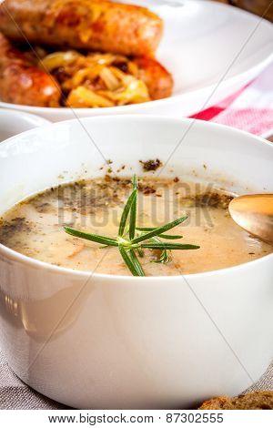 Traditional Polish Soup Sourdough.