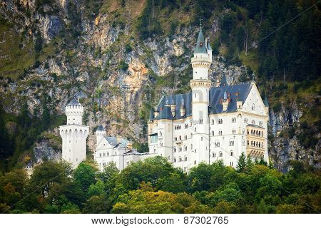 Neuschwanstein Castle, Bavaria, Germany, Europe