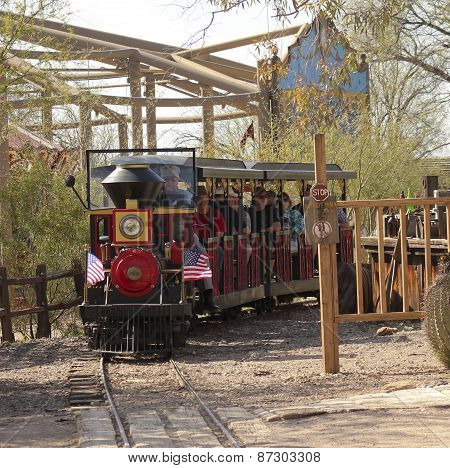A Train Ride Of Old Tucson, Tucson, Arizona