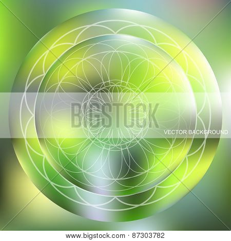 Background With A Circular Pattern