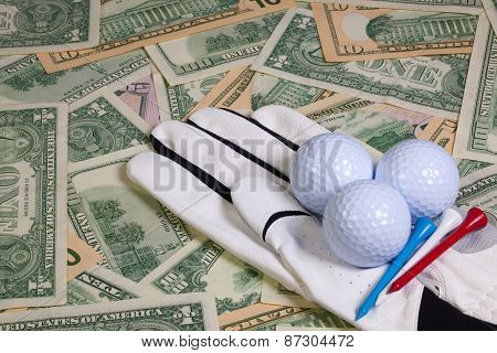 Golf Equipments And Us Money