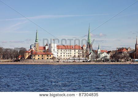 Riga Castle. Latvia