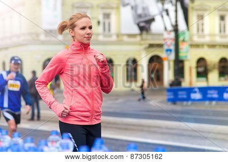 Running in the city