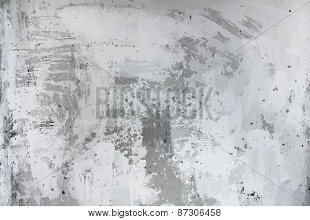 old dirty texture, grey wall background, vector