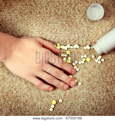 Hand And The Pills