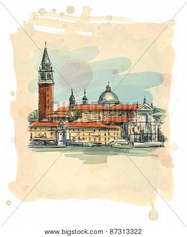 Venice - Island of San Giorgio Maggiore