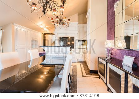 Exclusive Dining Room