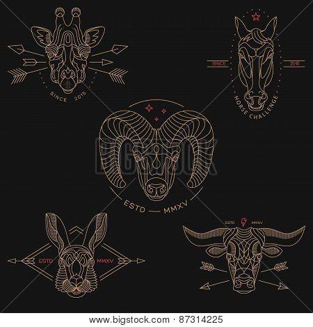 Animal Labels & Badges