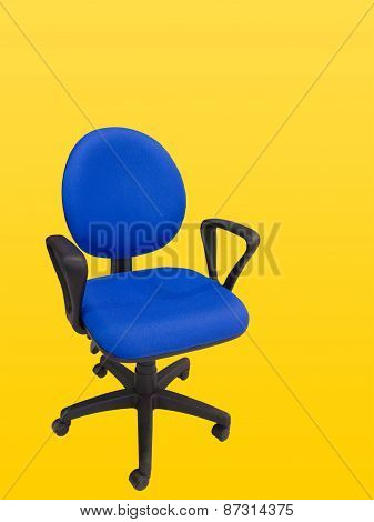 Close-up Of An Office Swivel Chair