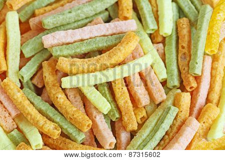 Veggie Straw Background