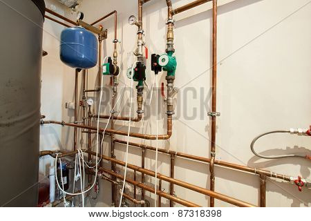 Waterpipes In Basement
