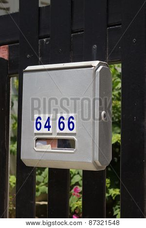 Mailbox In The Village, Thailand
