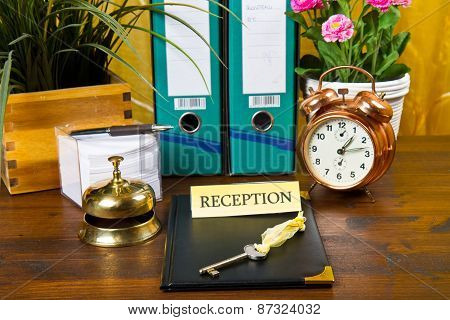 Reception Of A Hotel
