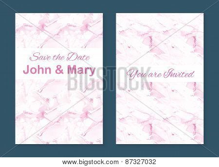 Set of two stylish templates