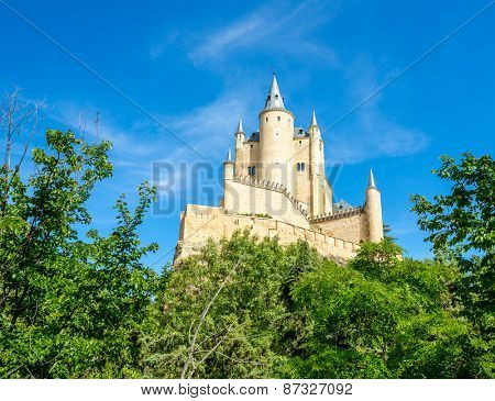 The Alcazar of Segovia is a stone fortification, located in the old city of Segovia, Spain.