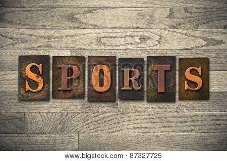 Sports Wooden Letterpress Theme