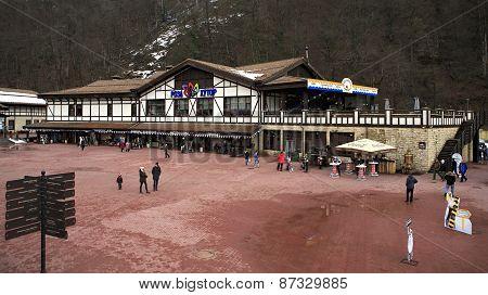 Information Center in Rosa Khutor Alpine Resort
