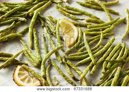 Homemade Sauteed Green Beans