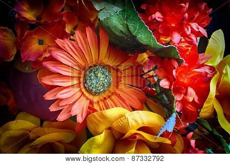 Artificial Colorful Flowers