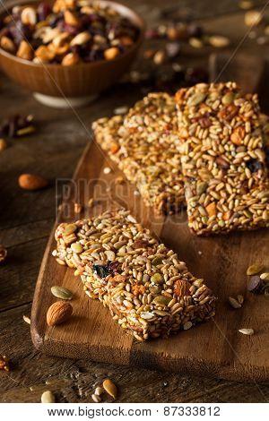Raw Organic Granola Bars