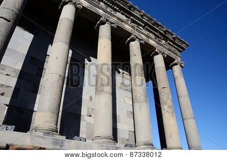 Colonnade Of Garni Temple,dedicated To Sun God Mithra - Classical Hellenistic Building ,Armenia