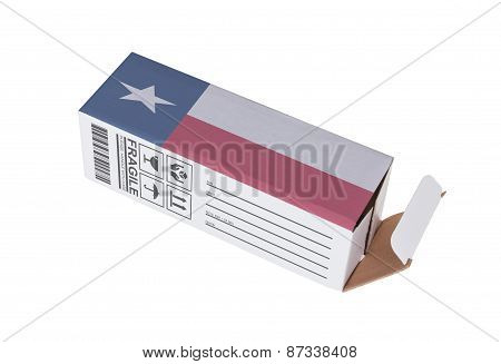 Concept Of Export - Product Of Texas