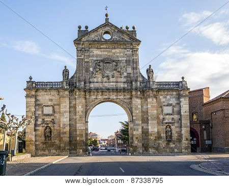 Arc Of St. Benedict In Sahagun, Spain