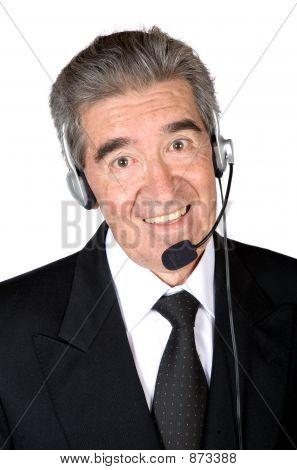 Business Customer Service Man