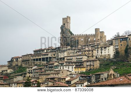 Castle Of The City Of Frias Burgos, Spain