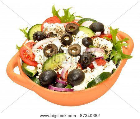 Feta Cheese Salad Bowl