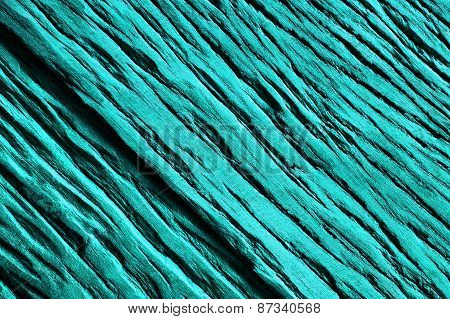Wood In Turquoise Abstract Background