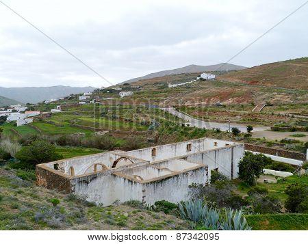 Ruins in Betancuria on Fuerteventura