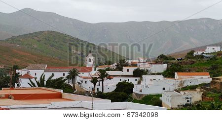 The village Betabcuria on Fuerteventura