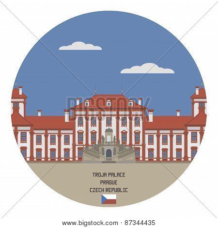 Troja Palace. Prague