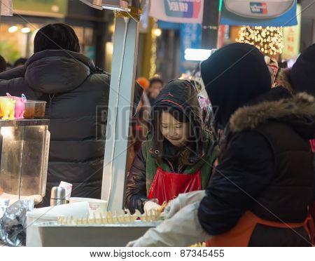 Street Food Around Seoul, South Korea