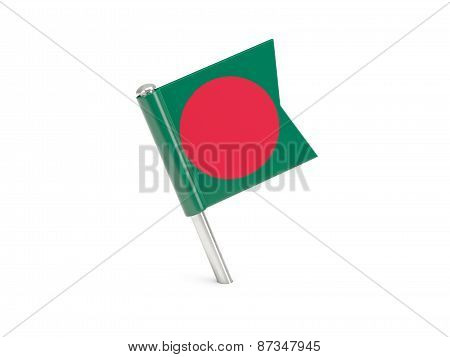 Flag Pin Of Bangladesh