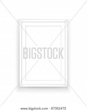 Poster frame design template