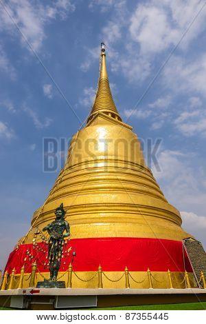 Pagoda in Golden Mountain