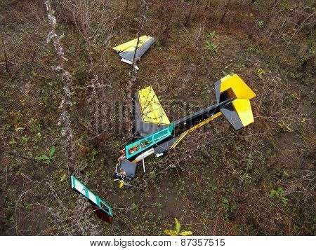 Crach Model Aircraft