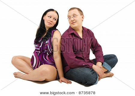 Man And Pregnant Wife
