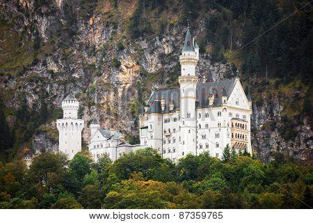 Neuschwanstein Castle, Bavaria, Germnay